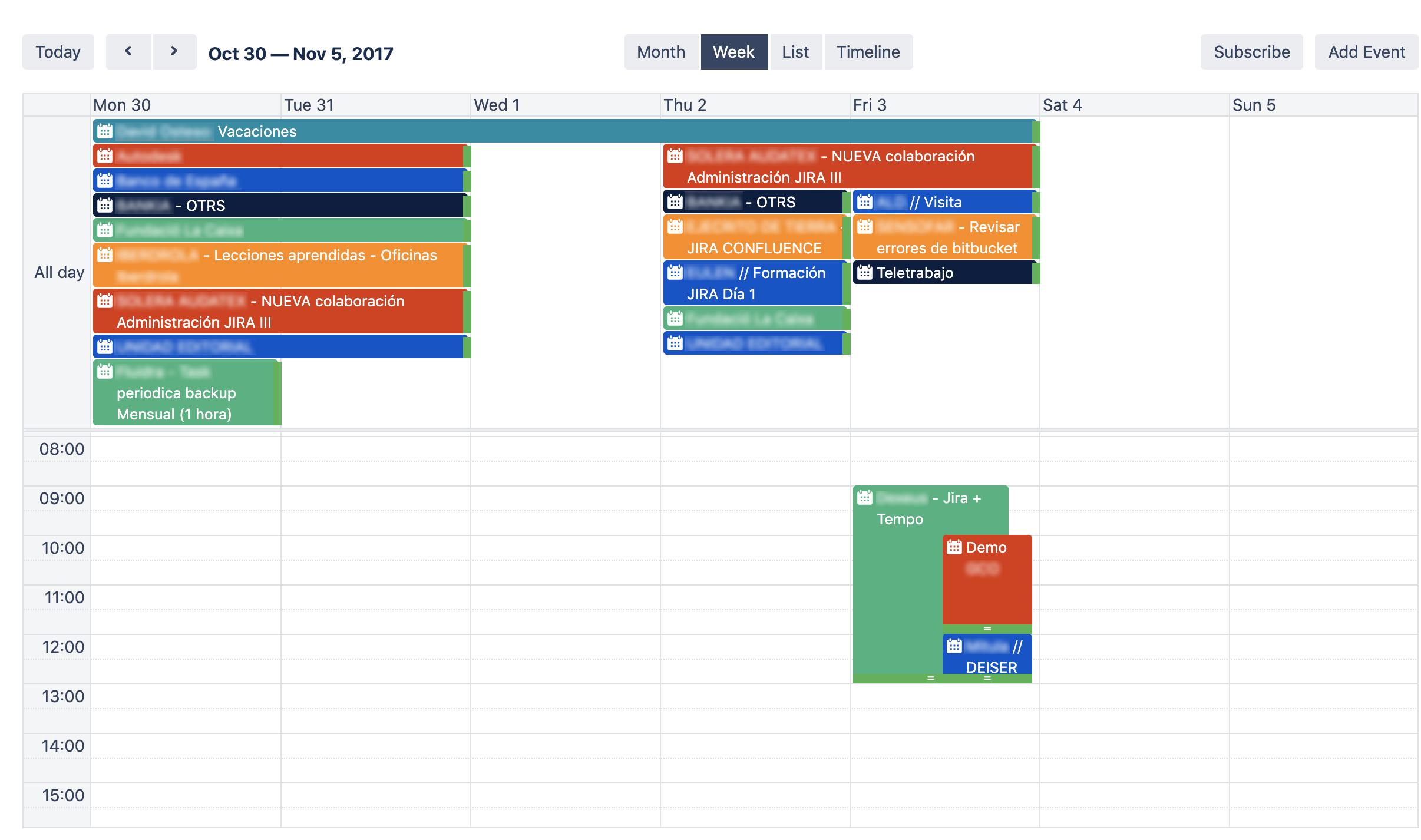 Team- Calendars-week-view