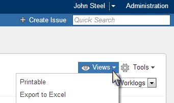 Tempo Report Pivot Account Excel