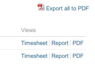 Account PDF Export