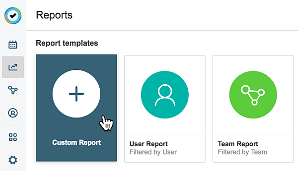 custom report icon