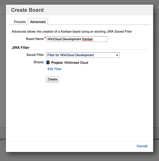Add a Filter for New Kanban