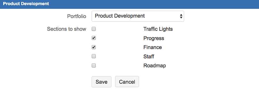 Tempo Budgets | customize-gadget