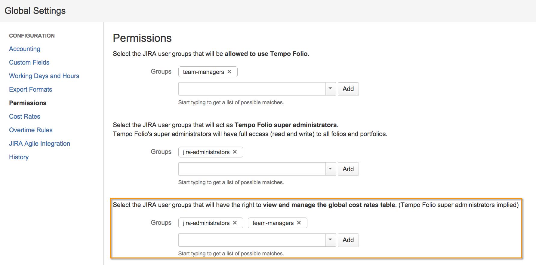 tempo-folio-global-settings