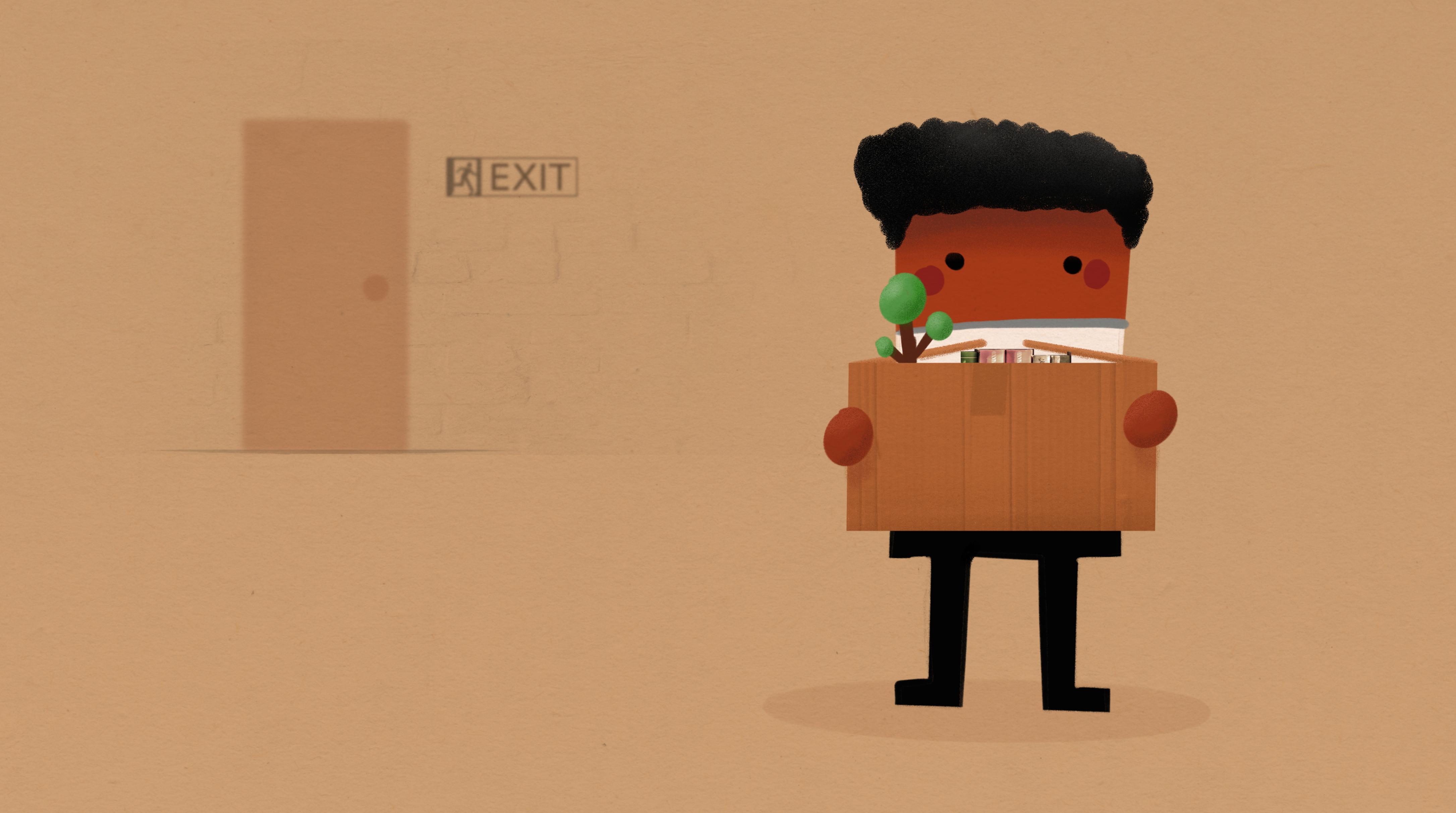 employee leave illustration