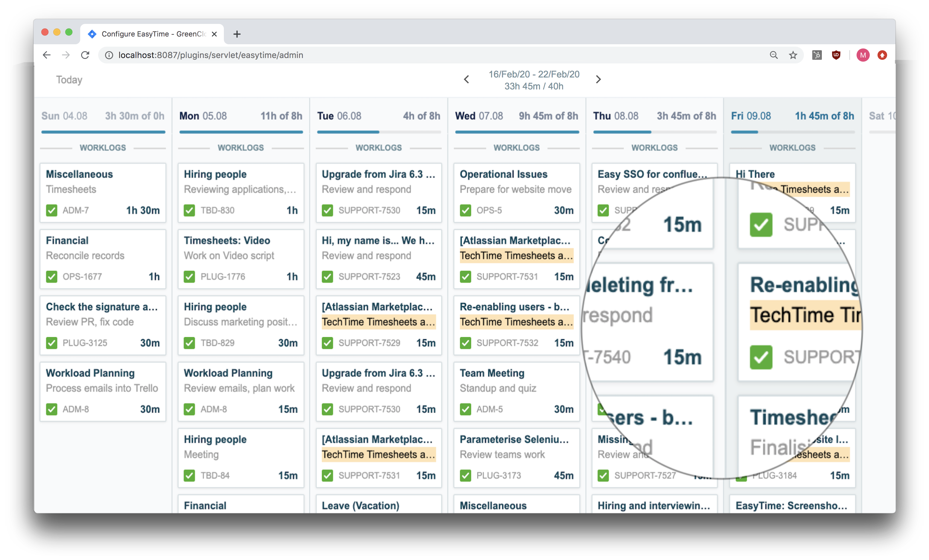 jira service desk automation with Tempo and EasyTime