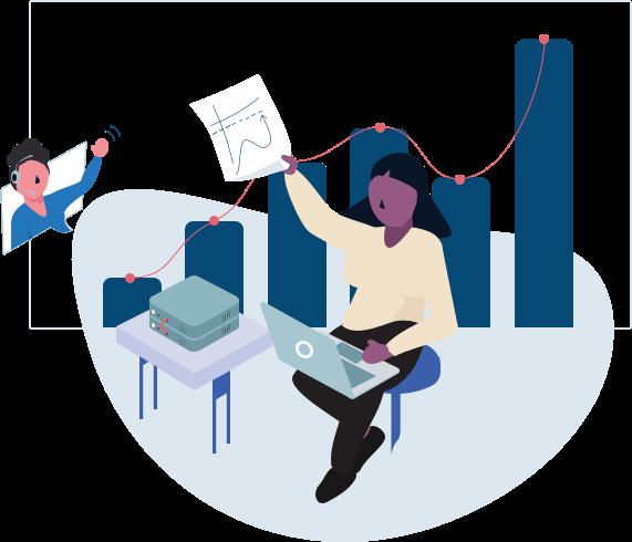 employee time tracking illustration