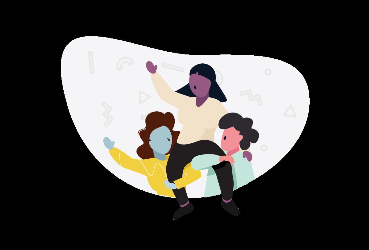 Tempo teamwork illustration