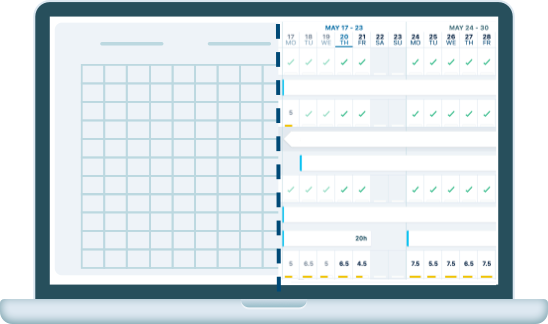 Excel spreadsheet alternative - Planner